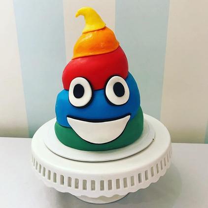 Rainbow dookie!