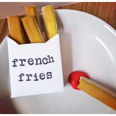 Cookies before Fries