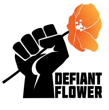 Defiant Flower Logo