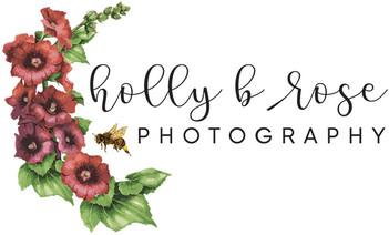 Logo forHolly B Rose Photography