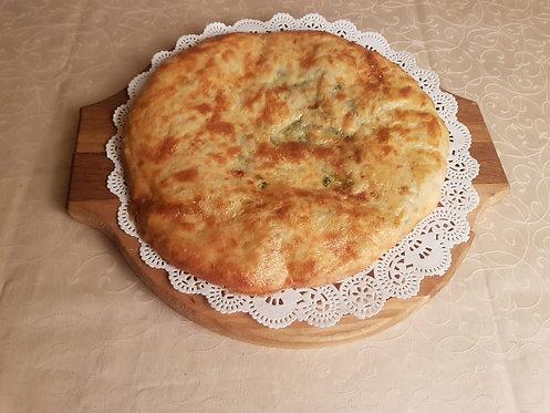 Пирог со шпинатом и сыром Сулугуни 420 гр