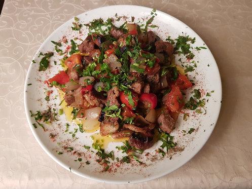 Баранина с овощами 200 гр