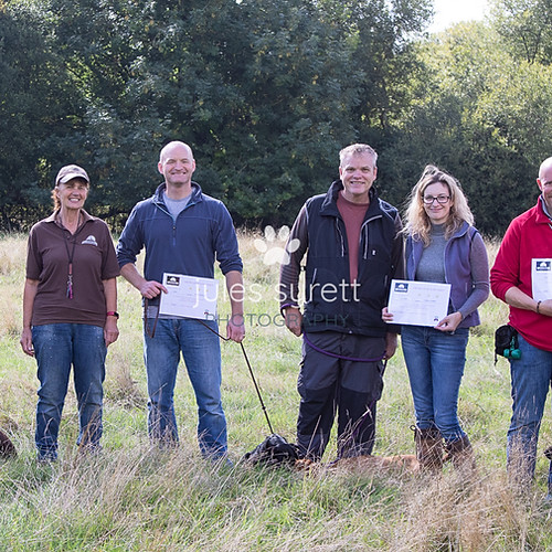 Purbeck Gundog School Puppy Graduation Day