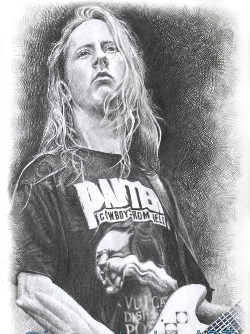 """Jerry Cantrell """"5 x 8"""""""