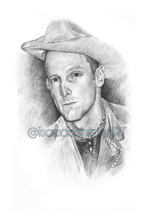 Hank Williams III 5 x 8