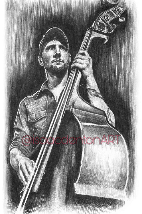 Jeff Loops (The Lost Dog Street Band) 5 x 8
