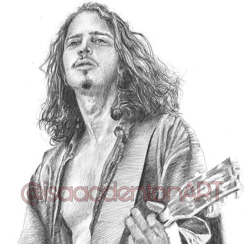 Chris Cornell 5 x 8