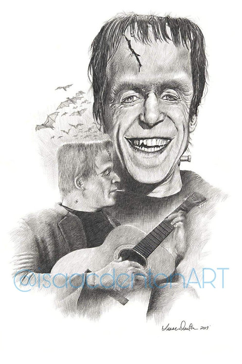"Herman Munster 11"" x 15"""