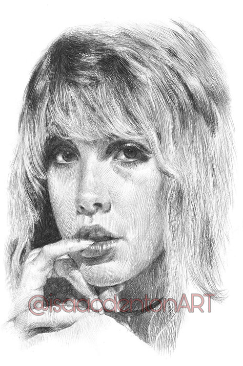 Stevie Nicks 5 x 8