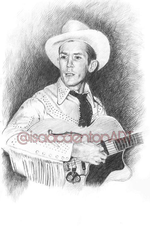 Hank Williams Sr. 5 x 8