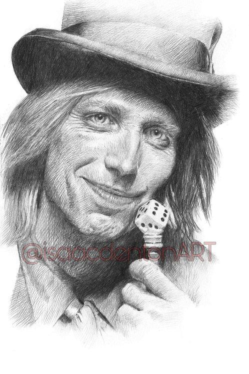 Tom Petty 5 x 8