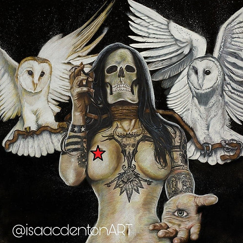 """Motionless in White 20"""" x 20"""""""