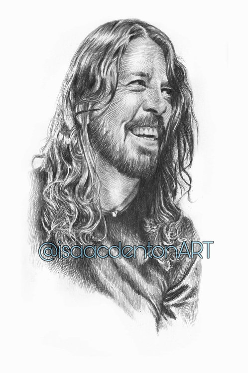 Dave Grohl 5 x 8