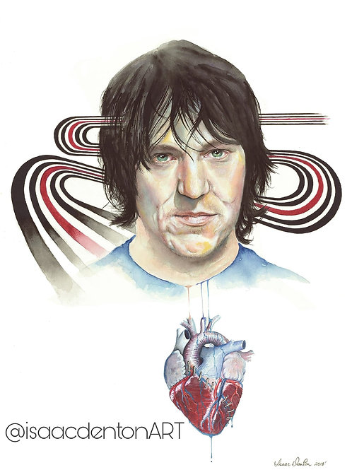"Elliott Smith 20"" x 27"""