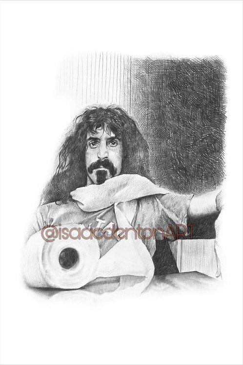 """Frank Zappa 5"""" x 8"""""""