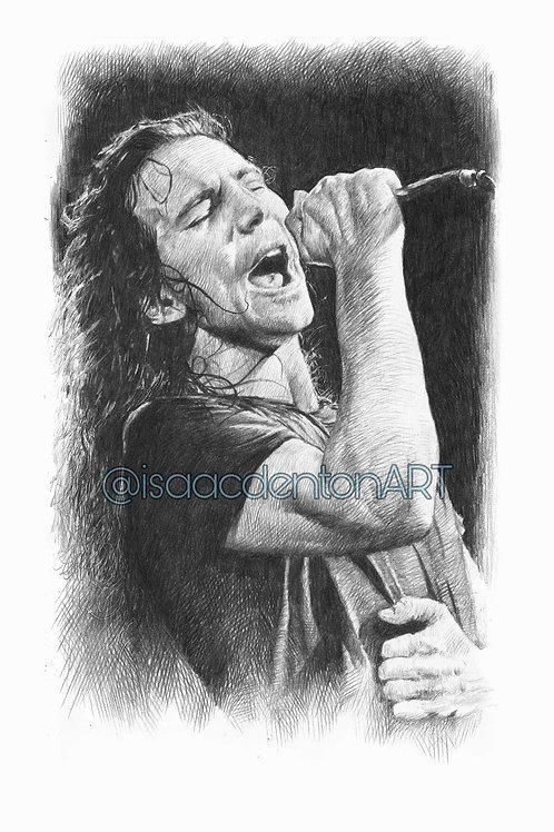 Eddie Vedder 5 x 8