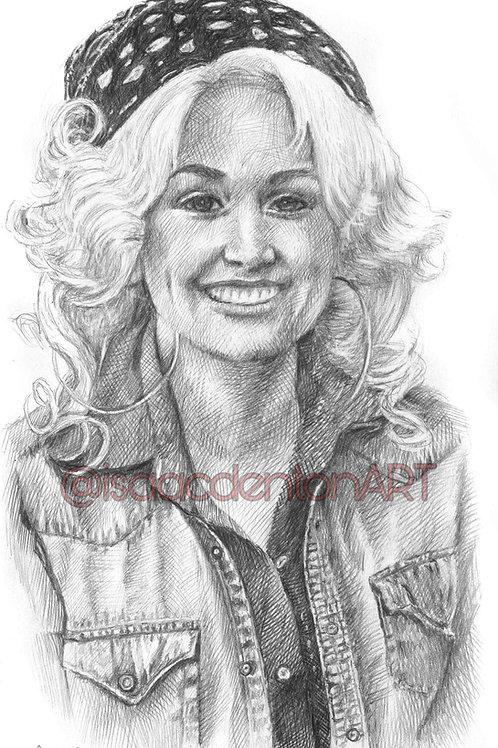 Dolly Parton 5 x 8