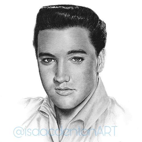 "Elvis 12"" x 18"""