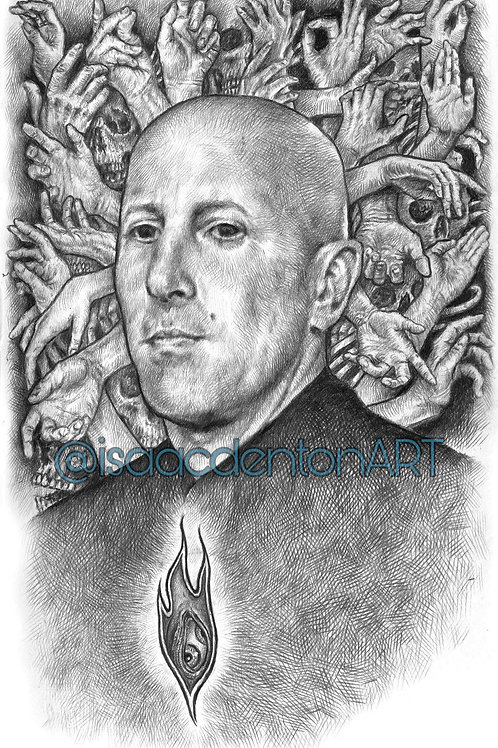 "Maynard James Keenan II 5"" x 8"""