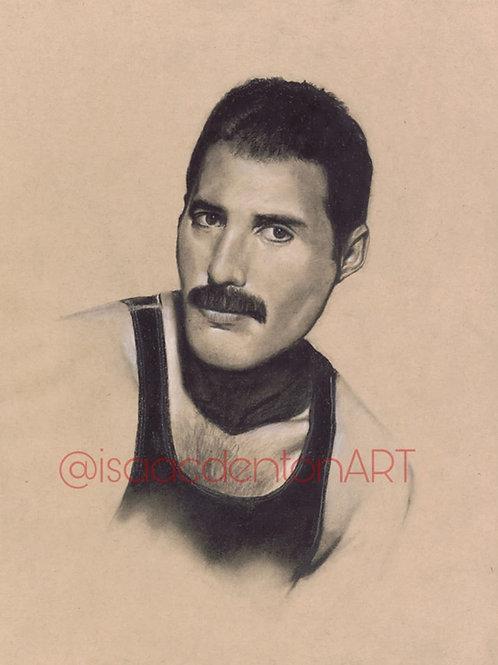 Freddie Mercury 11 x 14