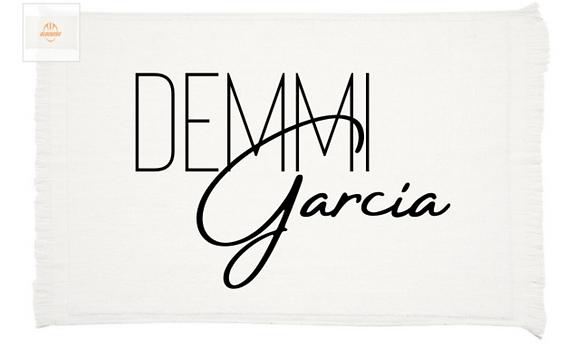 First Edition Demmi Garcia Towel