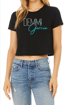 Demmi Garcia Official Crop Top Shirt