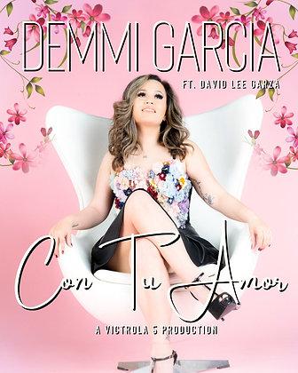 "Official Demmi Garcia ""Con Tu Amor"" 8""x10"" Poster"