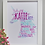 Thumbnail: Printed unicorn word art
