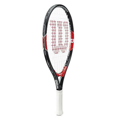"""Wilson Federer 19"""" Black & Red"""