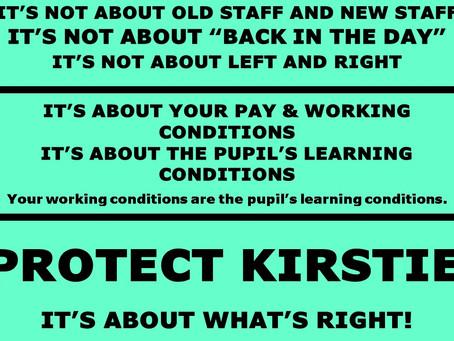 Defend Kirstie Paton
