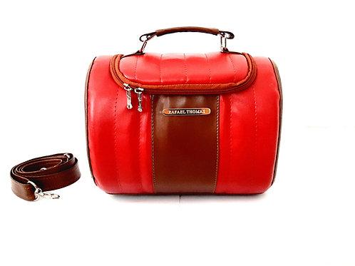 Bolsa térmica nicole mini - vermelho