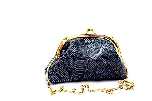 Bolsa lola - python azul