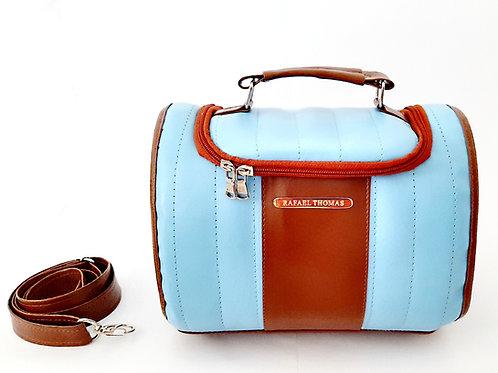 Bolsa térmica nicole mini - azul claro