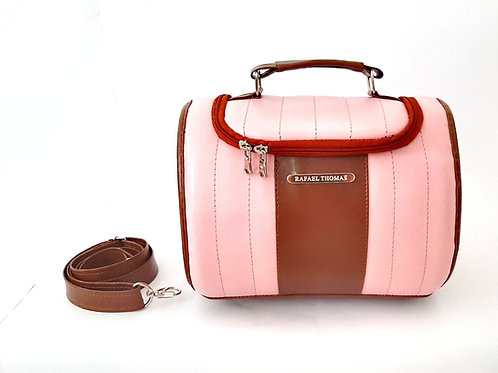 Bolsa térmica nicole mini - rosa claro