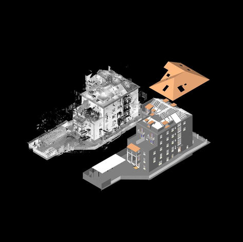 Point cloud  to  Architecture