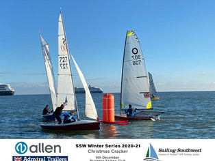 Christmas Cracker Pursuit Race at Paignton Sailing Club