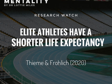 RESEARCH WATCH: Do Former Elite Athletes Live Longer?