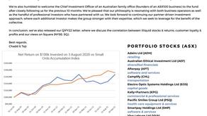 Fund performance, September 2021