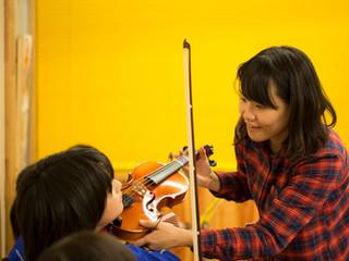 大槌のバイオリン教室も もうすぐ1年!
