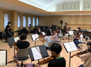 相馬子どもオーケストラに新しい先生をお迎えしました