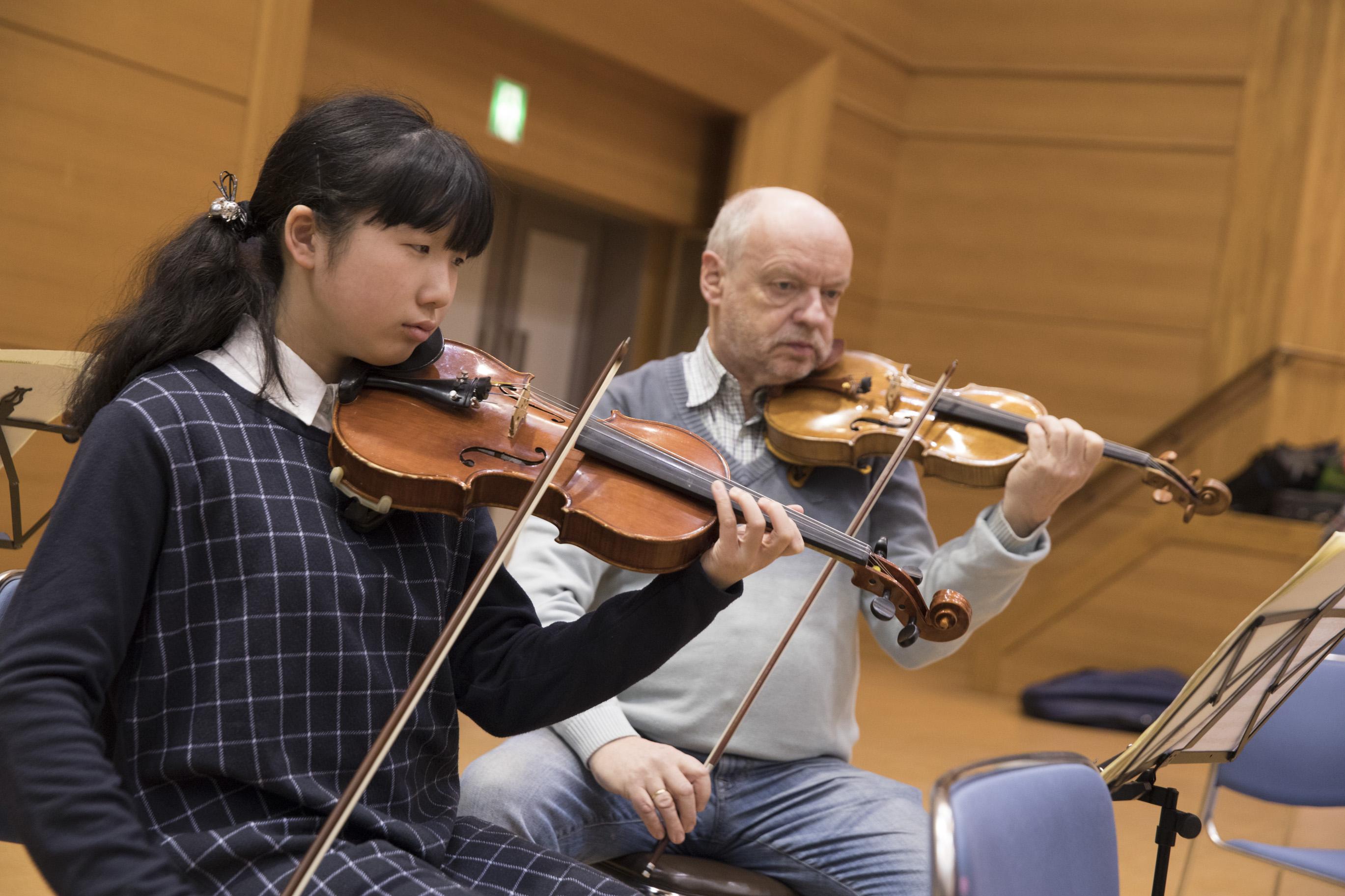 バイロイト・祝祭・ヴァイオリンカルテットマスタークラス4