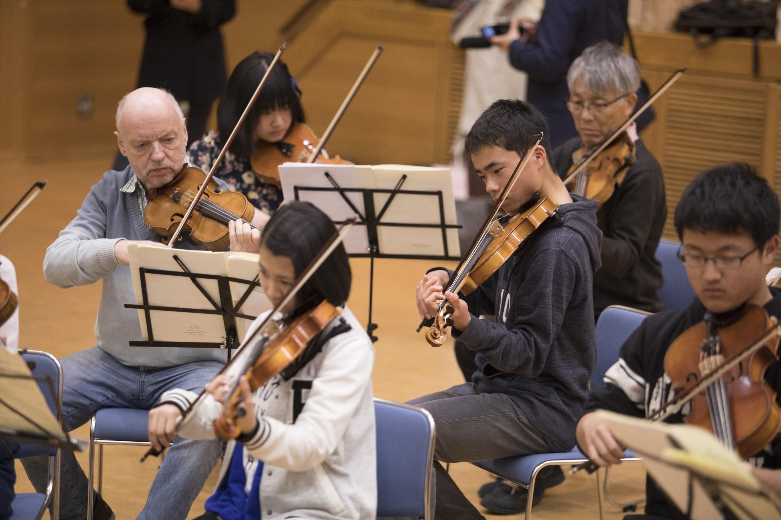 バイロイト・祝祭・ヴァイオリンカルテットマスタークラス13