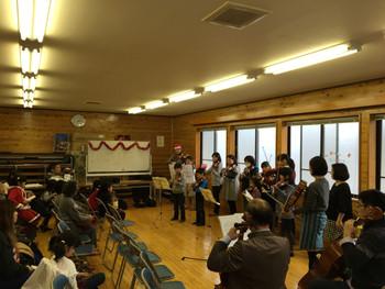 大槌弦楽器教室クリスマスコンサート