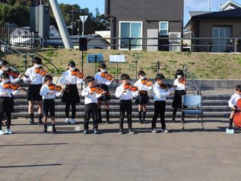 大槌子どもオーケストラ 9ヶ月ぶりのイベント出演!『おしゃっち公園Music Live』に出演しました!