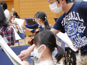 相馬子どもオーケストラ 年齢やパートを超えてみんなで上手くなる