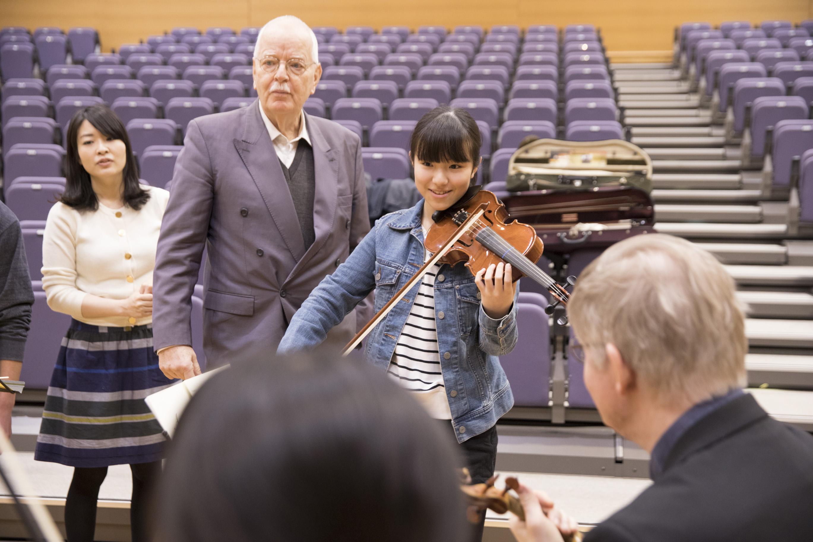 バイロイト・祝祭・ヴァイオリンカルテットマスタークラス9