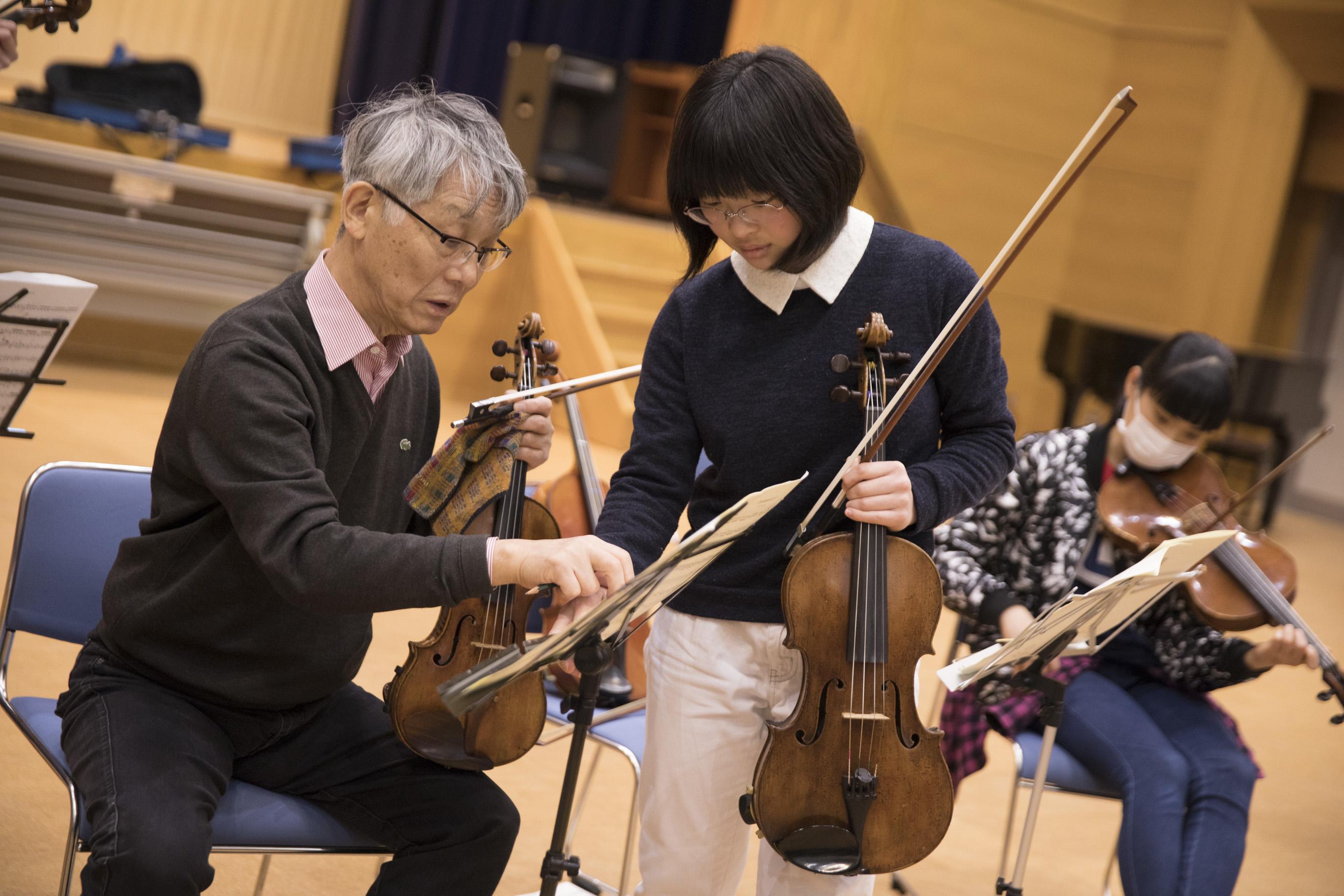 バイロイト・祝祭・ヴァイオリンカルテットマスタークラス10