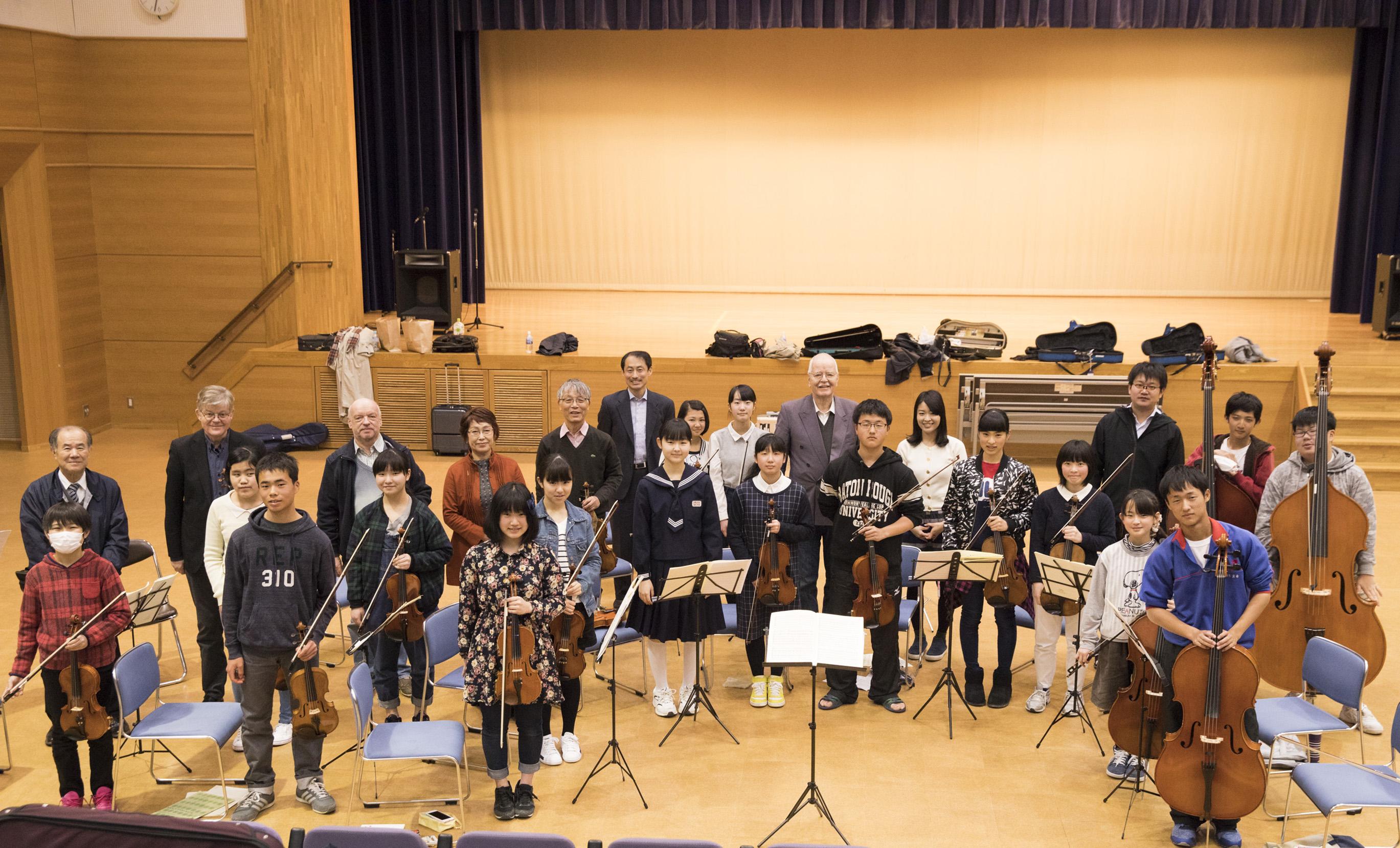 バイロイト・祝祭・ヴァイオリンカルテットマスタークラス12