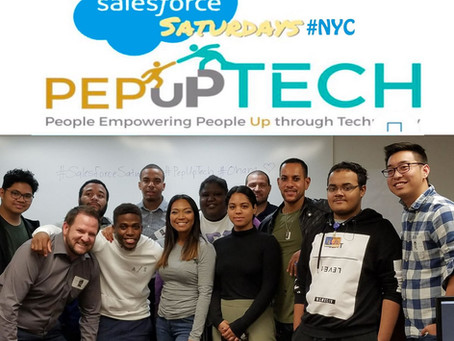 PepUp Tech and Salesforce Saturdays comes to the Bronx, NY!