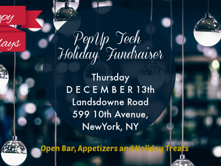 Holiday Fundraiser following NYC World Tour!